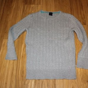 Gap Size Small Grey Sweater Stretch